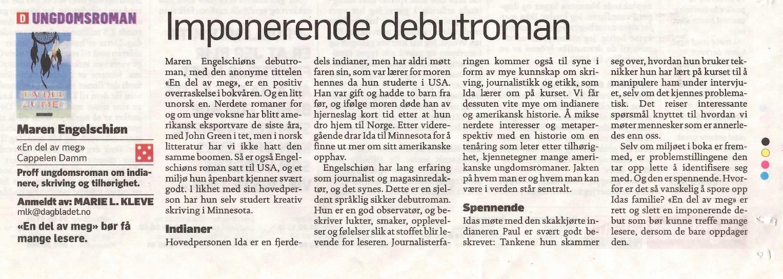 Dagbladet terningkast 5