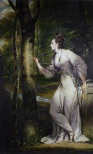 "Maleriet ""Mrs. Lloyd"" av Joshua Reynolds"